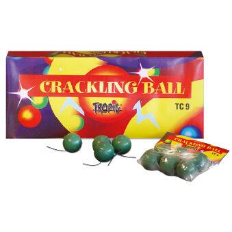 """TC 9 - Sprāgstošās bumbiņas """"Crackling balls"""" 6gab."""